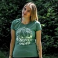 Lady t-shirt Discover Nature - Nature series by WGL.pl