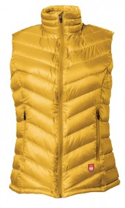 Down Vest PAJAK Shadow Women Gold