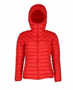 Down Hoody PAJAK Phantom Women Red