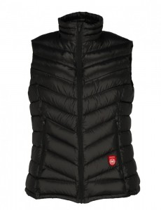 Down Vest PAJAK Shadow Women Black