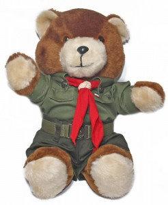 Polish Boy Scout Teddy Bear - Harcerz