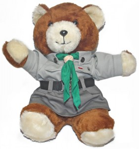 Polish Girl Scout Teddy Bear - Harcerka