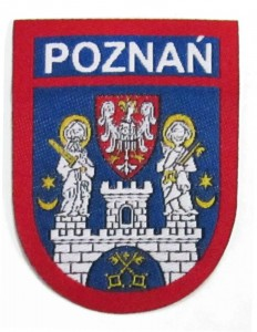 Coat of arms of the Poznań city - jacquard