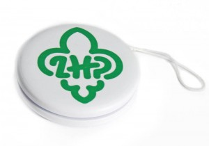 Yoyo with logo of Polish Scouting and Guiding Association