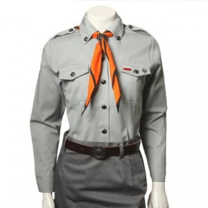 Scout uniform of the Polish Scouting Association, outfit for a scout girl - women's scout shirt
