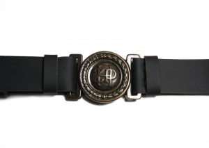 Scout Uniform Leather Belt - black (ZHP)