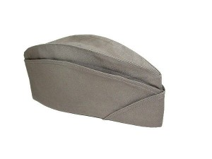Scout hat - forage cap for women - grey