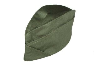 Scout hat - forage cap for men - olive