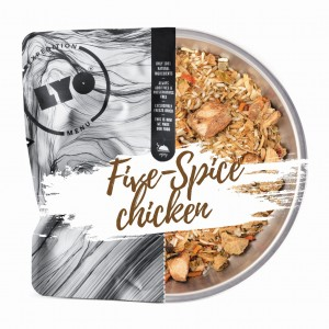 LYO FIVE-SPICE CHICKEN - CHICKEN with RICE in FIVE-SPICE SAUCE