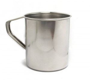 Steel Mug 650ml - for tourists and scouts