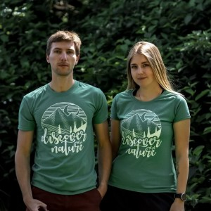 T-shirt Discover Nature - the Nature series
