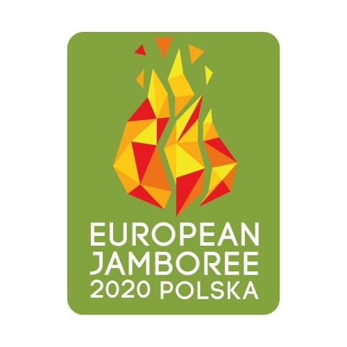 Limited European Jamboree badge - June 2020